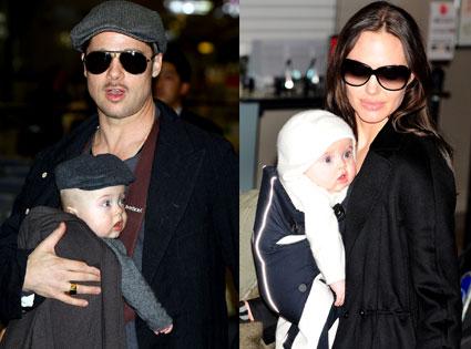 Brad Pitt, Knox, Vivienne, Angelina Jolie