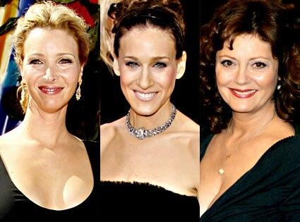 Lisa Kudrow, Sarah Jessica Parker, Susan Sarandon