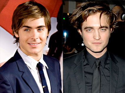 Robert Pattinson, Zac Efron