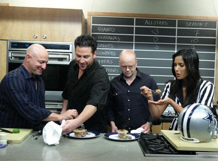 Tom Colicchio, Chef Scott Conant, Toby Young, Padma Lakshmi, Top Chef
