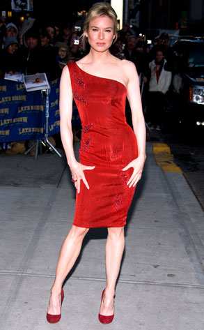 Lady In Red From Ren 233 E Zellweger S Best Looks E News