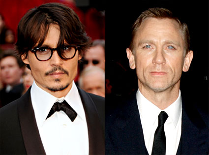 Johnny Depp, Daniel Craig