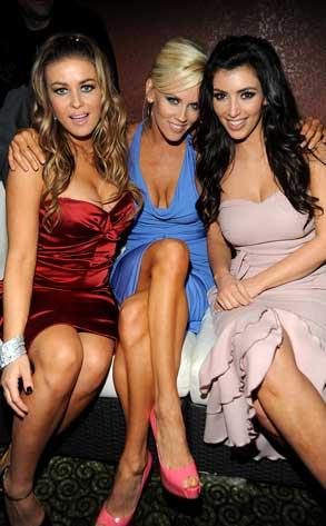 Carmen Electra, Kim Kardashian, Jenny McCarthy