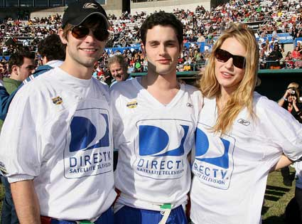 Chace Crawford, Penn Badgley, Blake Lively