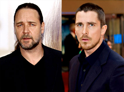 Russell Crowe, Christian Bale