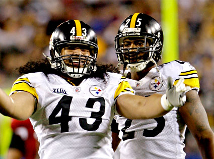 Troy Polamalu, Ryan Clark