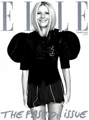 Gwyneth Paltrow, Elle Cover