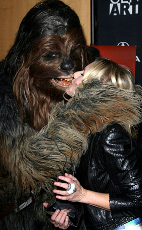 Kristen Bell, Chewbacca