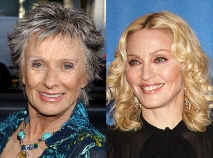 Cloris Leachman, Madonna