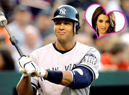 Alex Rodriguez, Kim Kardashian