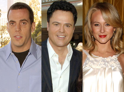 Steve-O, Donny Osmond, Jewel