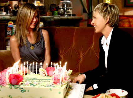 Jennifer Aniston, Ellen DeGeneres