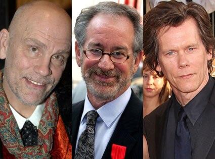 John Malkovich, Steven Spielberg, Kevin Bacon