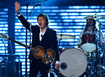 Paul McCartney, Dave Grohl