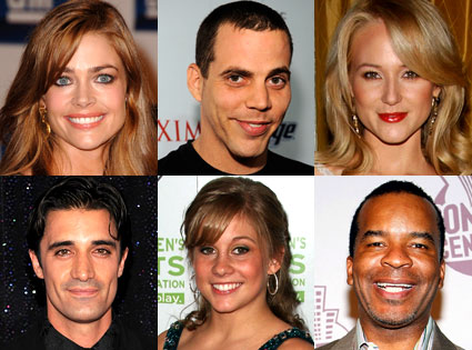 Denise Richards, Steve-O, Jewel, Gilles Marini, Shawn Johnson, David Alan Grier