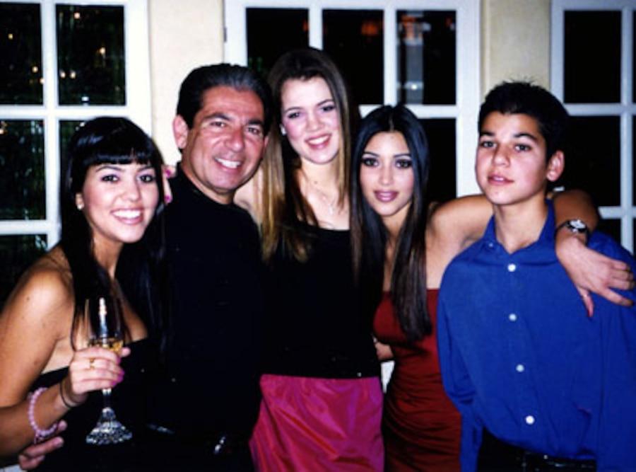 Kim Kardashian, Khloe Kardashian, Kourtney Kardashian, Robert Kardashian, Robert Kardashian Jr.