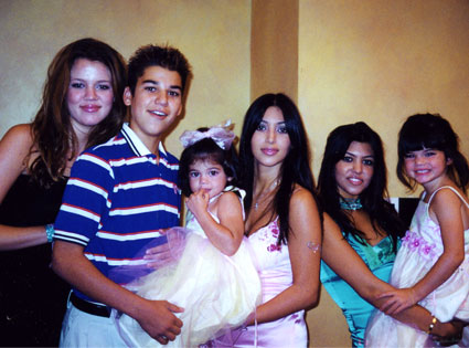 Kim Kardashian, Khloe Kardashian, Robert Kardashian Jr., Kendall Jenner, Kylie Jenner