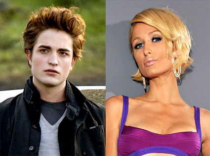 Robert Pattinson, Paris Hilton