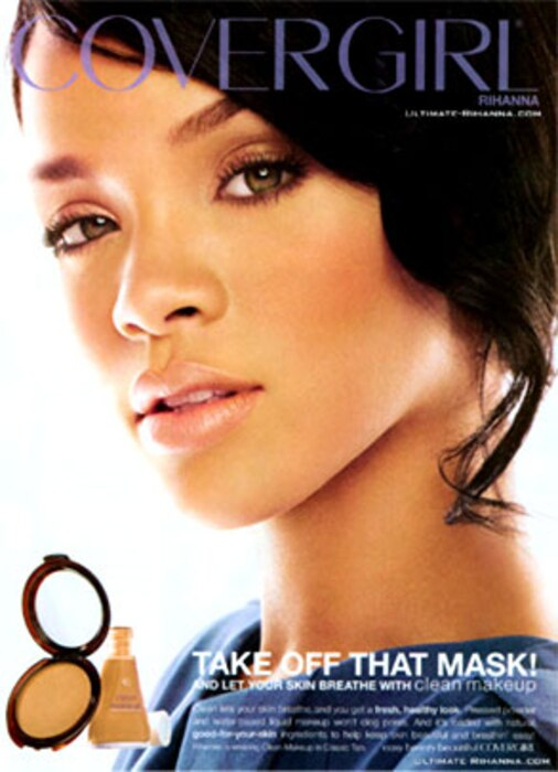 Rihanna, CoverGirl Ad
