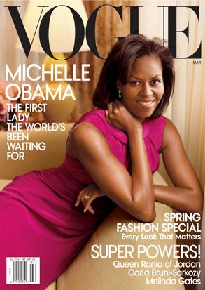 Michelle Obama, Vouge