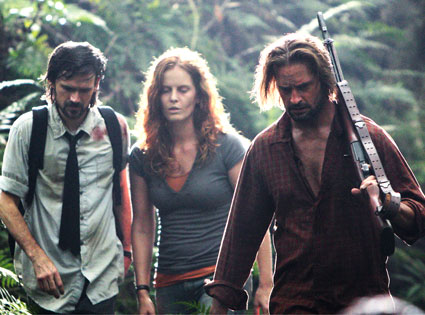 Jeremy Davies, Rebecca Mader, Josh Holloway, Lost