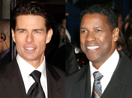 Tom Cruise, Denzel Washington