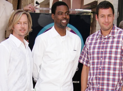 David Spade, Chris Rock, Adam Sandler