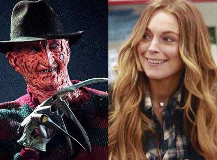 Freddy Krueger, Lindsay Lohan