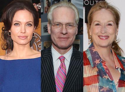 Angelina Jolie, Tim Gunn, Meryl Streep