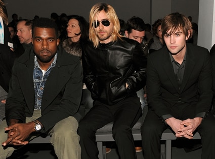 Kanye West, Jared Leto, Chace Crawford