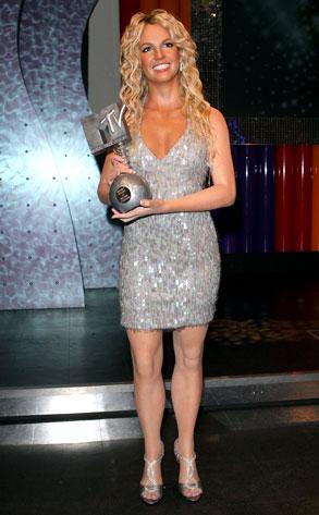 Britney Spears, wax figure