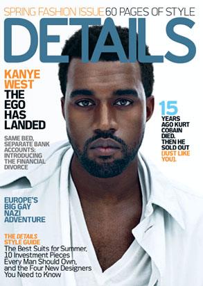Kanye West, Details Magazine