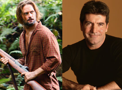 Josh Holloway, Simon Cowell