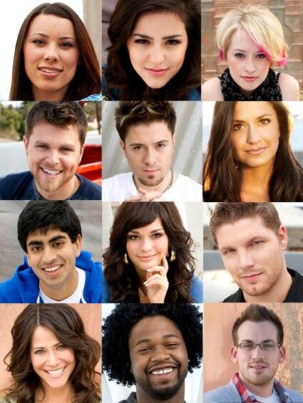 American Idol, First Twelve Singers