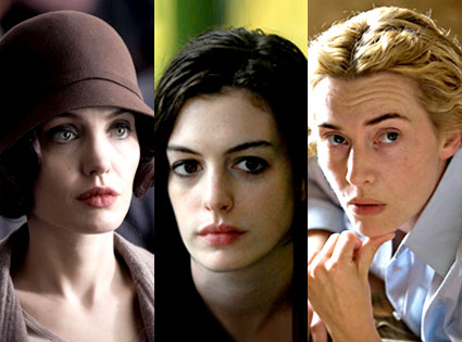 Angelina Jolie, Changeling, Anne Hathaway, Rachel Getting Married, Kate Winslet, The Reader