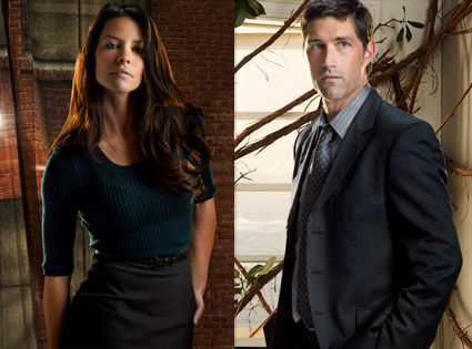 Evangeline Lilly, Matthew Fox, Lost