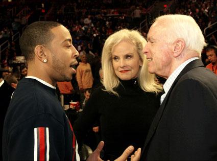 Ludacris, John McCain, Cindy McCain