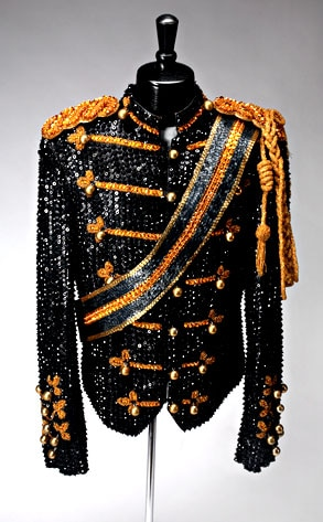 Michael Jackson, Thriller Military Suit