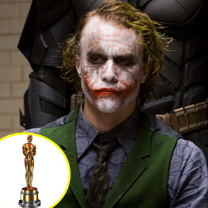 Heath Ledger, Oscar Statuette