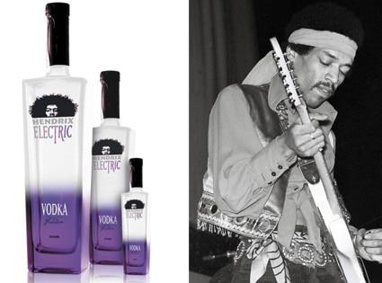 Hendrix Vodka, Jimi Hendrix