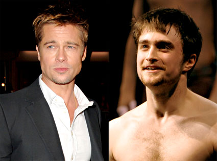 Brad Pitt, Daniel Radcliffe