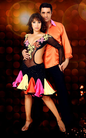 Cheryl Burke, Gilles Marini, Dancing with the Stars