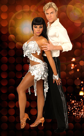 Lil' Kim, Derek Hough, Dancing with the Stars
