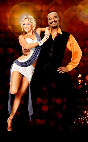 DWTS, Kym Johnson, David Alan Grier