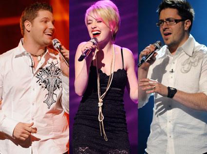 Michael Sarver, Alexis Grace, Danny Gokey, American Idol Season 8