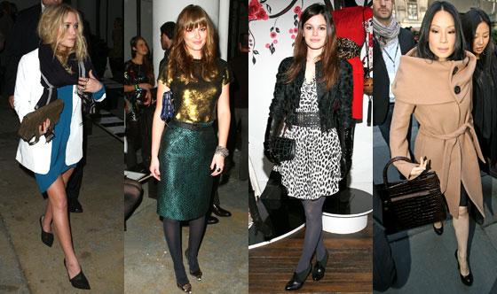 Mary-Kate Olsen, Leighton Meester, Rachel Bilson, Lucy Liu
