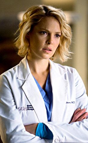 Grey's Anatomy, Katherine Heigl, Jeffrey Dean Morgan