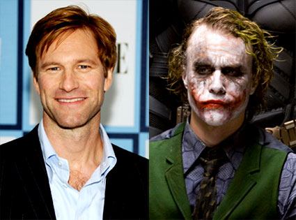 Aaron Eckhart, Heath Ledger