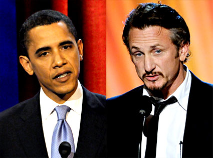 Barack Obama, Sean Penn