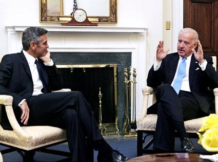 George Clooney, Joe Biden